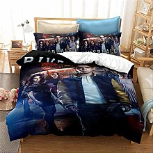 SUNHAON 3d Printing Double Duvet Covers Bedding