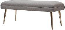 Sunni Upholstered Bench Canora Grey Upholstery: