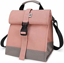 Sunny Bird Insulated Lunch Bag Pink Lunch Box