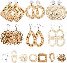 SUNNYCLUE 1 Bag DIY Bohemia Style Earring Making