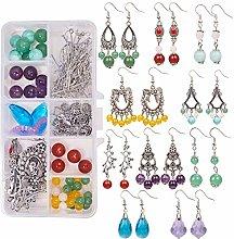 SUNNYCLUE 1 Box DIY 10 Pairs Chandelier Earrings