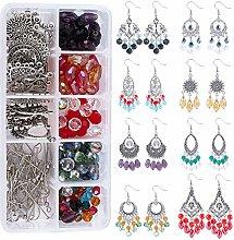 SUNNYCLUE 8 Pairs Vintage Earrings Set Bohemian