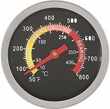 Sunnyflowk Stainless Steel Oven Cooker Thermometer