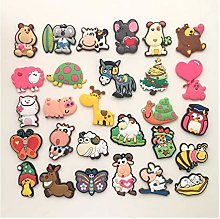 SunnyLou Fridge magnets 2PCS Cute Cartoon Animal