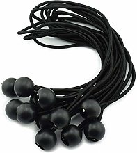 Sunnysam 12pcs 12 Inches 30cm Ball Bungee Cords
