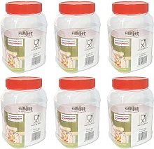 Sunpet 1000ml Rectangle Plastic Food Storage