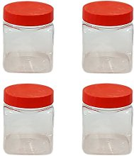 Sunpet 50ml Small Plastic Food Storage Canisters,