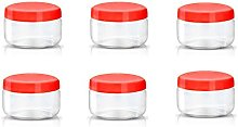 Sunpet Food Storage Canisters, Plastic, Red, 150