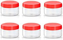 Sunpet Food Storage Canisters, Plastic, Red, 50