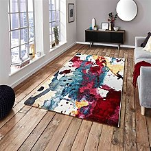 Sunrise 9349A Multi-coloured Designer Rug by Think