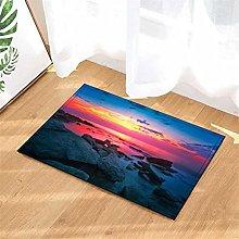 Sunrise. The Sea! Door Mat Front Door Carpet