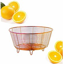 SUNSENGEUR Fruit Basket Bowl Stainless Steel Fruit
