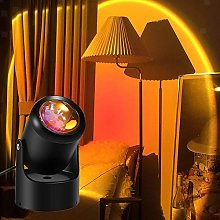 Sunset Lamp Projection LED Night Light, 180