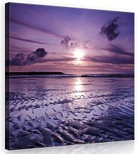 Sunset Photographic Print on Canvas House of