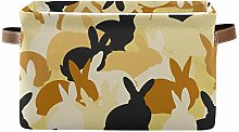 SunsetTrip Cute Animal Rabbit Bunny Storage