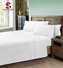 Sunshine Comforts® 68 Pick bed linen Plain Dyed