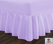 Sunshine Comforts® Fitted valance Polycotton bed