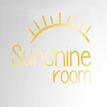 Sunshine Room Door Wall Sticker Happy Larry