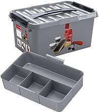 Sunware Q-Line Shoe Polish Box with Insert,