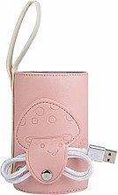 SUOMO USB Baby Bottle Warmer, Portable Milk Warmer