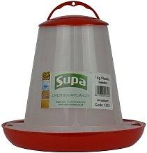 Supa Poultry & Aviary Bird Feeder 1KG - 1kg -