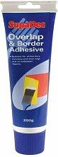 SupaDec Overlap & Border Adhesive 250g - BOA250