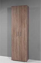 Super 2 Door Wardrobe in Dark Oak