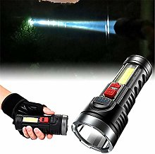 Super Bright 10000000LM LED USB Charging OSL+COB