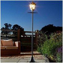 Super Bright 2m LED Solar Powered Victoriana Lamp