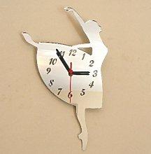 Super Cool Creations Ballerina Clock Mirror 40cm x