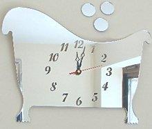 Super Cool Creations Bath & Bubbles Clock Mirror