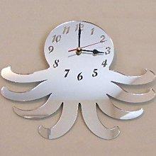 Super Cool Creations Octopus Clock Mirror 35cm x