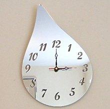 Super Cool Creations Raindrop Clock Mirror 40cm x