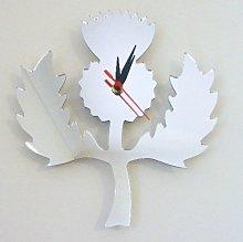 Super Cool Creations Scottish Thistle Clock 30cm x
