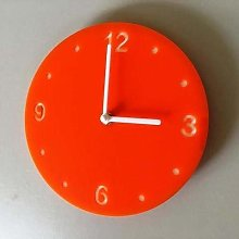 Super Cool Creations Shatterproof Round Wall Clock