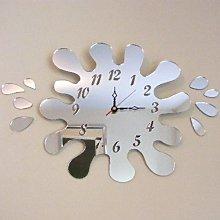Super Cool Creations Splash Puddle Clock Mirror