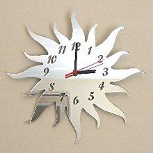 Super Cool Creations Sun Mirror - 35cm Clock