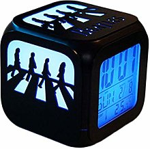 Super Creative Beatles Abbey Road Alarm Clock, 3D