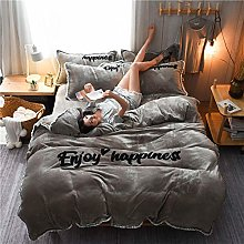 super king size duvet cover sets,Winter thick and