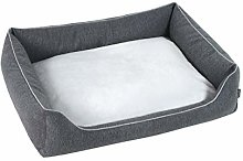 Super Luxury 85 x 120cm Dark Grey, Beds for Dogs