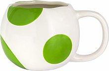 Super Mario Yoshi Egg Shaped Mug | Novelty