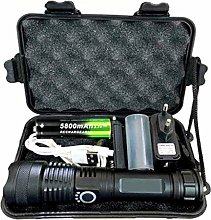 Super Powerful 6000lm Flashlight - Cree XHP50 LED