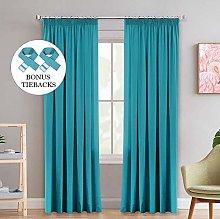Super Soft Blackout Large Room Darkening Curtains