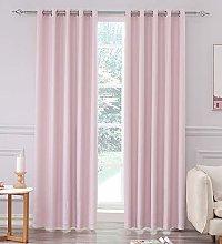 Super Soft Matt Satin Thermal Blackout Blush Pink