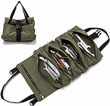 Super Tool Roll Bag ,Tool Roll Canvas Wrench