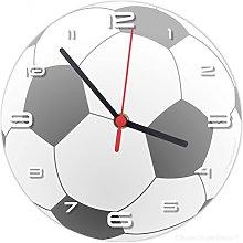SuperDuperDecor FOOTBALL WALL CLOCK (matches our