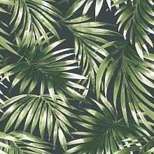Superfresco Easy Elegant Leaves Green Wallpaper
