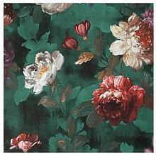 Superfresco Easy Isabelle Green Floral Wallpaper