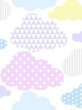 Superfresco Easy Marshmallow Clouds Wallpaper
