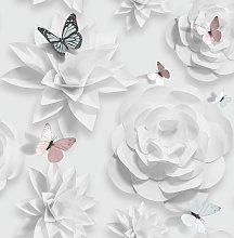 Superfresco Easy Origami Florals Wallpaper